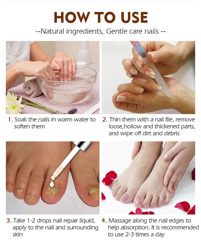 Nail Repair Serum - Jance Samantha Beauty & Fashion
