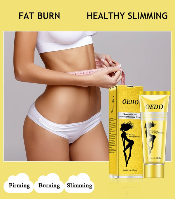 Hyaluronic Acid Ginseng Reduce Cellulite Cream - Jance Samantha Beauty & Fashion
