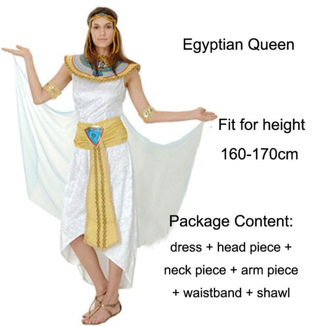 Ancient Egyptian Costume Cosplay - Jance Samantha Beauty & Fashion