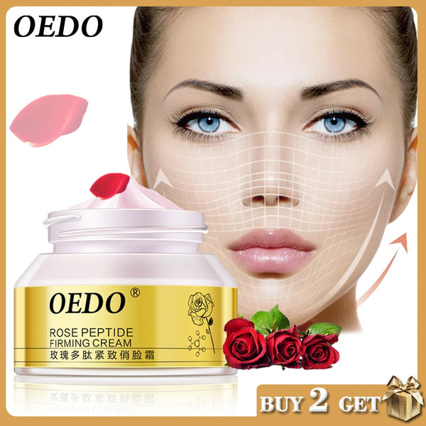 Rose Peptide Firming Face Slimming Cream - Jance Samantha Beauty & Fashion