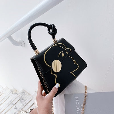 NEW Simple Fashion Flap Quality Pu Handbag - Jance Samantha Beauty & Fashion