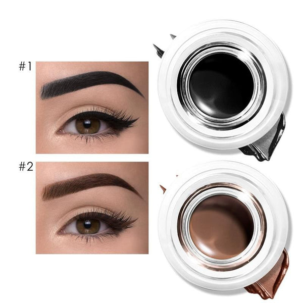 Cream Waterproof Long-lasting Eyeliner Professional Eyebrow Gel - Jance Samantha Beauty & Fashion