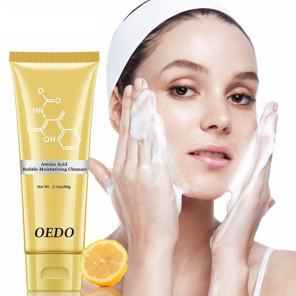 Amino Acid Bubble Moisturizing Facial Pore Cleanser - Jance Samantha Beauty & Fashion