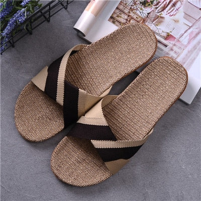 Breathable Linen Casual Sandals - Jance Samantha Beauty & Fashion
