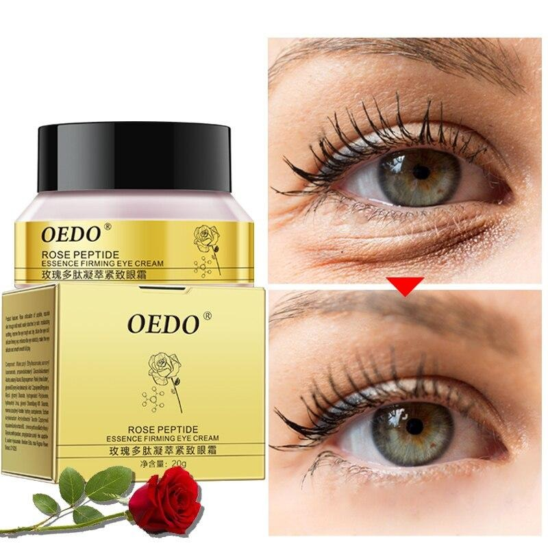 OEDO Eye cream Peptide Collagen Anti-Wrinkle anti-aging Remover Dark Circles Eye care Against Puffiness and Bags - Jance Samantha Beauty & Fashion