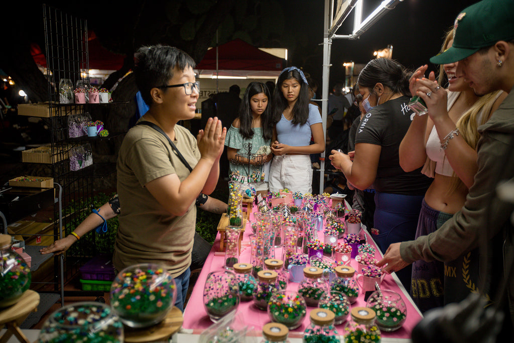 flowers that last a lifetime flowers that last forever at 626 Night Market