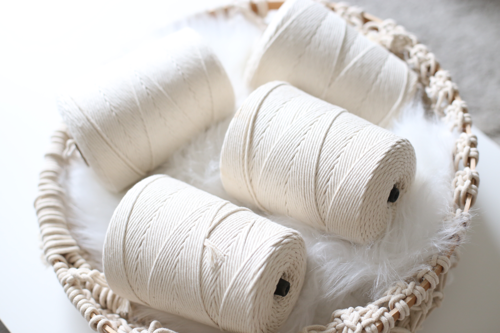 NATURAL COTTON ROPE (PACK OF 4)