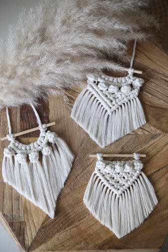 MINI MACRAME (PACK OF 3)
