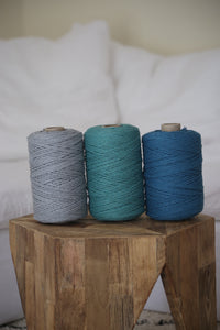 PREMIUM COLOURED COTTON STRING 3mm 300m (984 feet)
