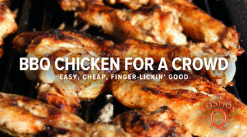 Barbecued Chicken For A Crowd