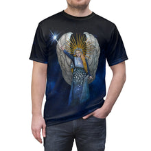 "Load image into Gallery viewer, ""The Guardian"" Angel T-Shirt - Sublimation AOP"
