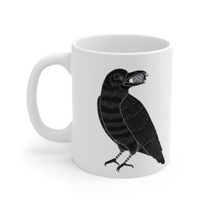 LINDA STRAWBERRY - Winter Raven Mug 11oz