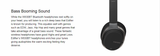 Edifier W830BT/W860NB Over the ear Bluetooth Headphones - Daily essentials