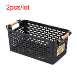 Kitchen Storage Basket Plastic Multi-functional Vegetables Fruit Racks - Daily essentials