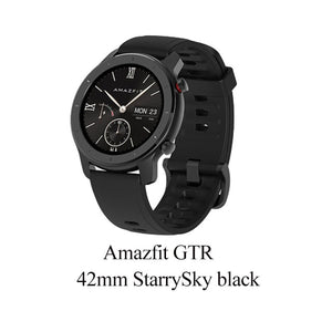 Global Version Amazfit GTR Smart Watch 42mm 5ATM Waterproof 24 Days Battery GPS - Daily essentials