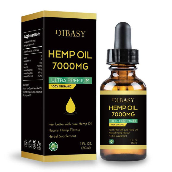Essential Oils 7000MG Cbd Oil Organic Hemp Seed Extract - Daily essentials