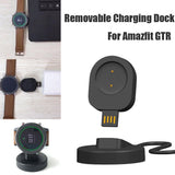 Portable Removable Multi-function USB Cable Charging Dock  For Amazfit GTR Smart Watch - Daily essentials