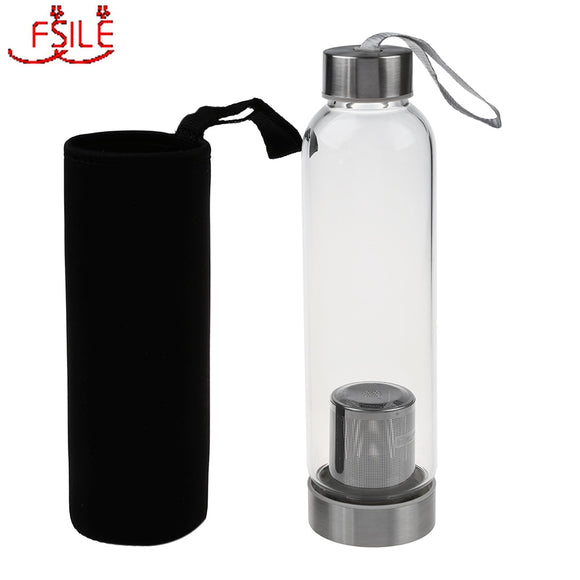 Water Bottle with Tea Infuser  550ml - Daily essentials