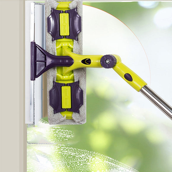 Double-sided Telescopic Rod Window Cleaner-Daily essentials