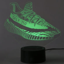 Load image into Gallery viewer, Adidas Yeezy 350 3D LED Sneaker Night Lamp