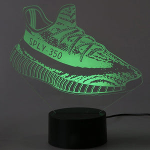 Adidas Yeezy 350 3D LED Sneaker Night Lamp