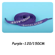 "Load image into Gallery viewer, OFF WHITE style ""SHOELACES"". Custom Shoelaces For Sneakers"