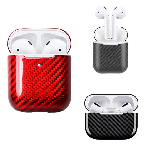 Carbon Fibre Case For AirPods 2nd Gen / AirPods Pro