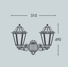 Load image into Gallery viewer, Anna- Classic Style Lantern (Small) E27- Fumagalli -Italy