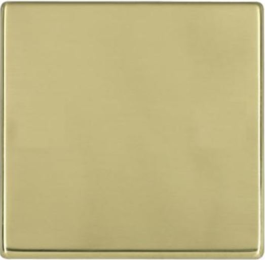Hamilton Hartland CFX Polished Brass Single Blank Plate.