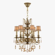 Load image into Gallery viewer, Classical Brass Chandelier