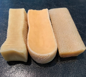 THREE Small Himalayan Yak Cheese Chews - 3-Pack (1.2+ oz. ea.)