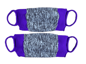 Apex Pack of 2 Easy Masks Purple Medium/Large
