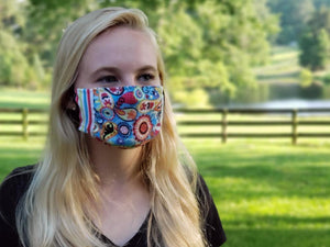 High Point Designer Edition Easy Masks Candy Paisley Medium/Large