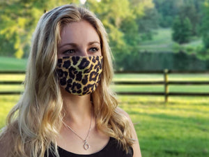 High Point Designer Edition Easy Masks Leopard Medium/Large