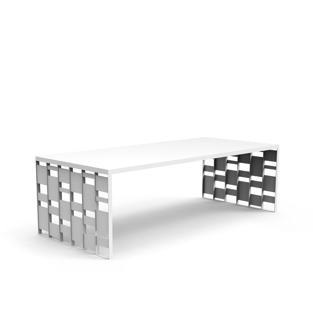 Stagger Slat Table