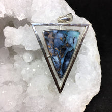 Load image into Gallery viewer, Opalized Wood Pendant