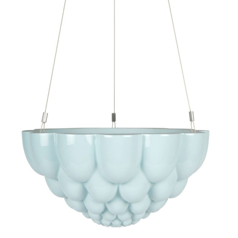 Round Jelly Planter Blue