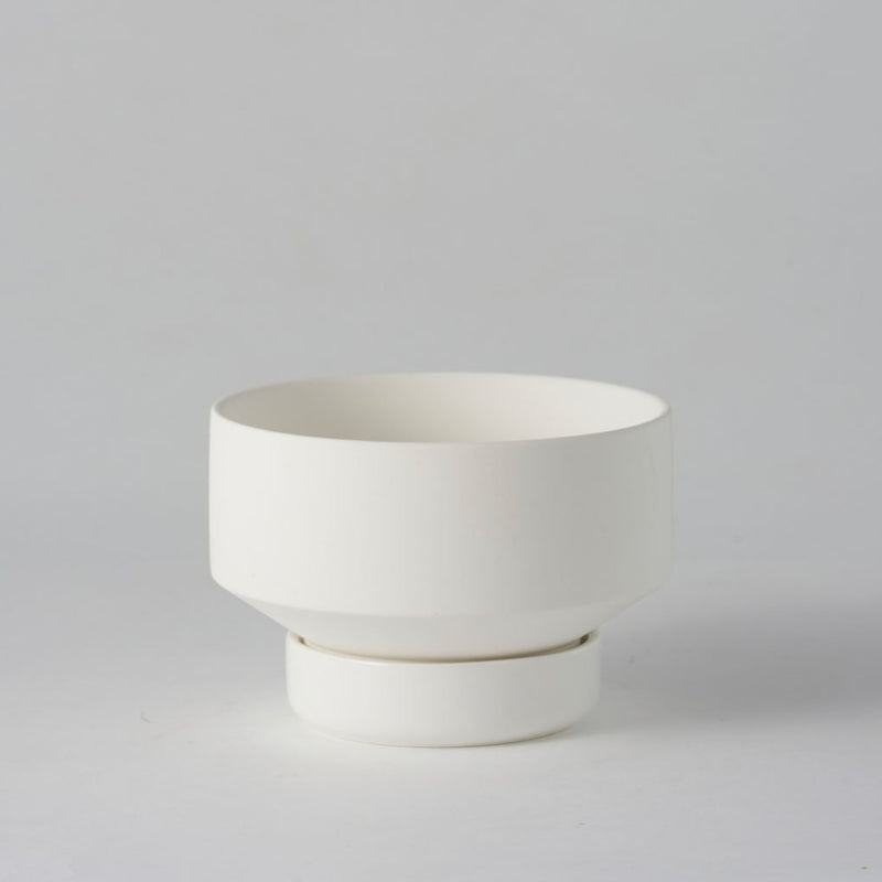 Collectors Gro Pot Small White