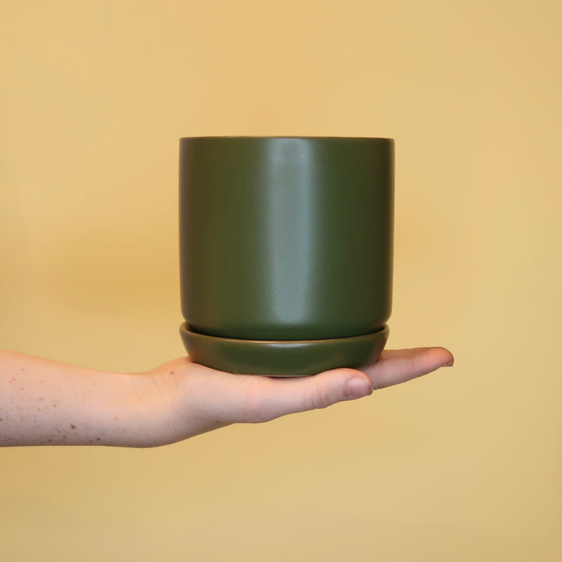 Oslo Planter - Dark Green (XS)