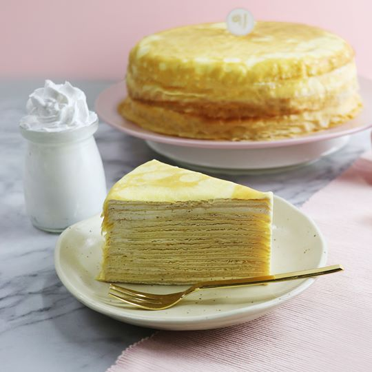 Mille Crepe Cake Buffet (6 Slices)