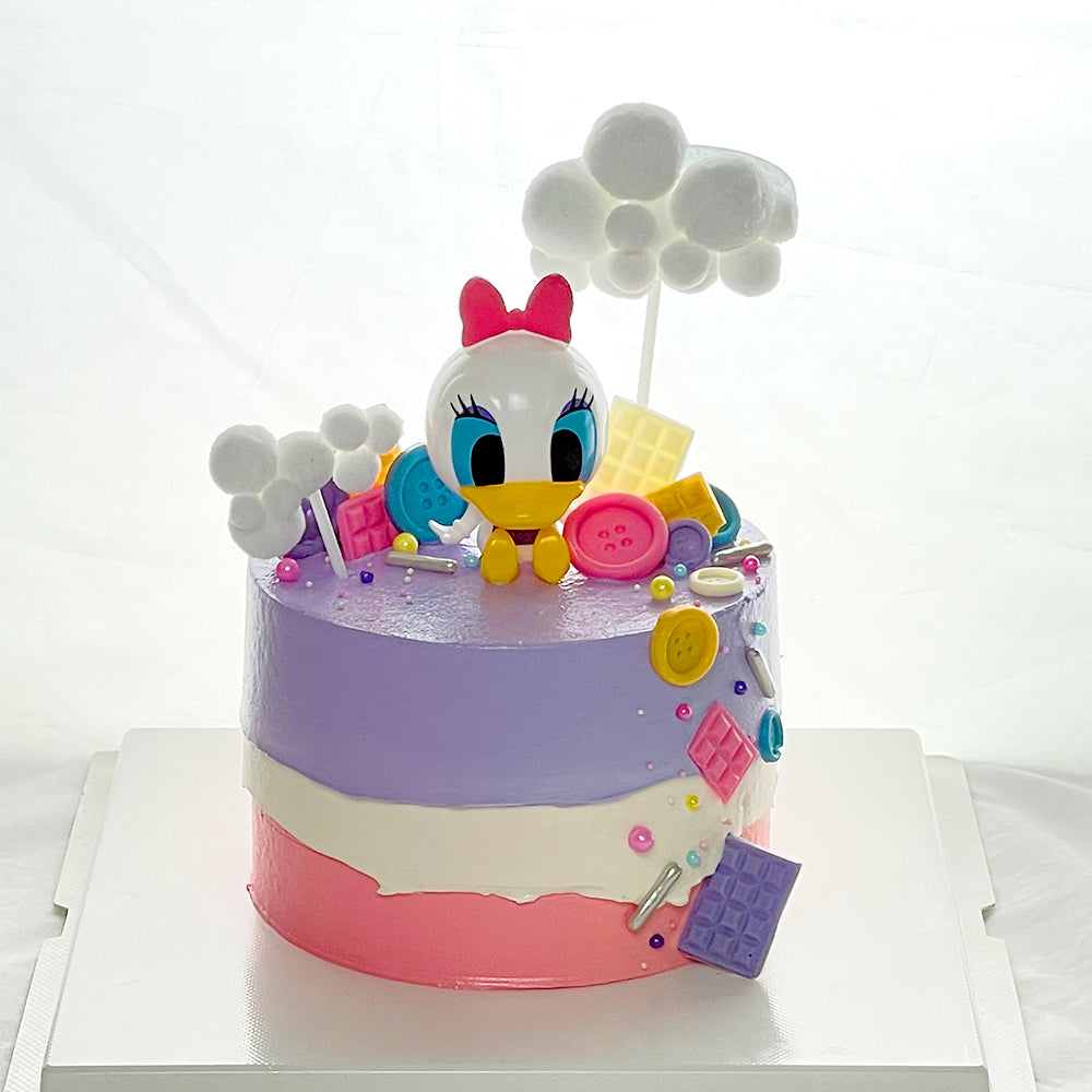 Daisy Duck 3D Cartoon Cake