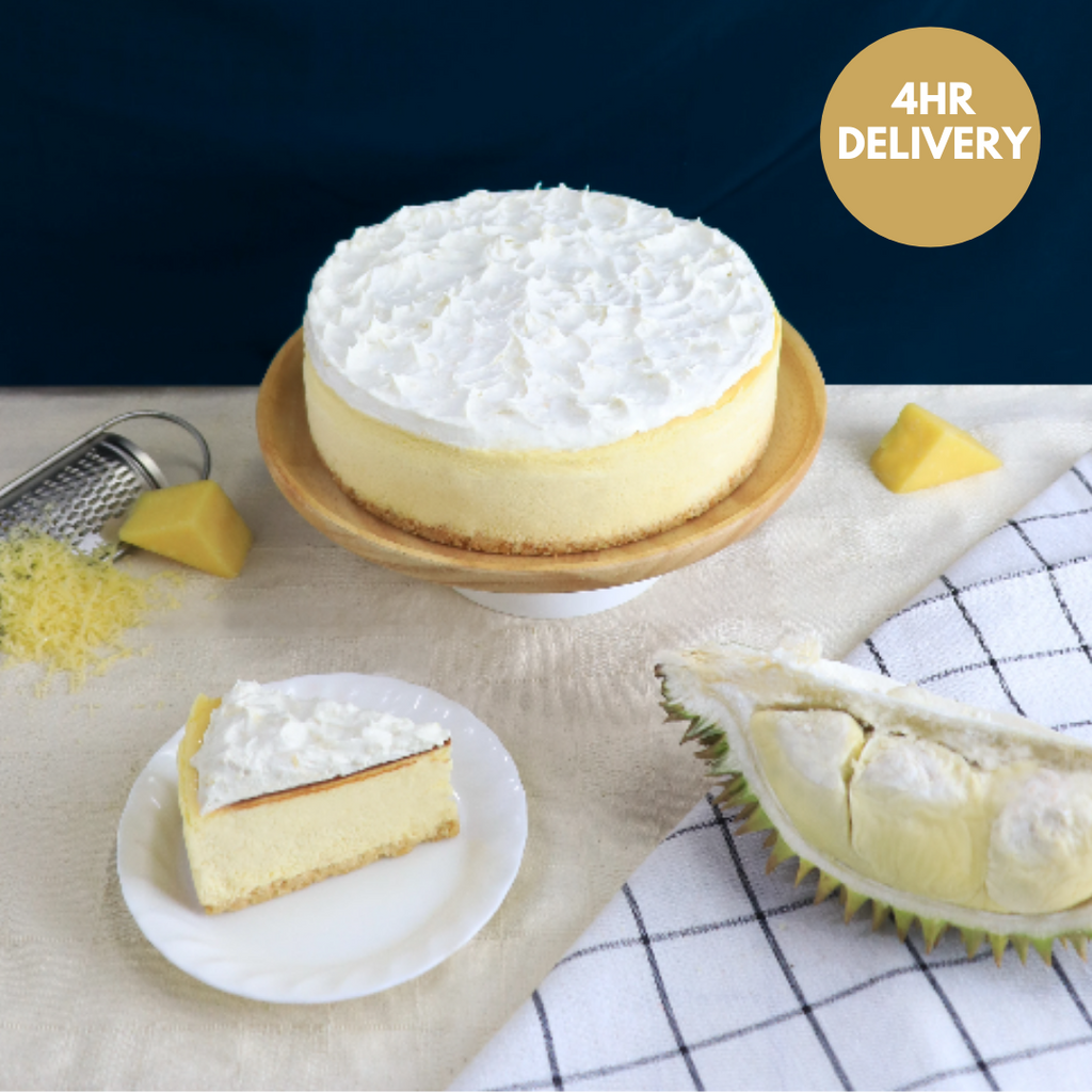 (4hr Delivery) D24 Durian Cheesecake-Cheese Cake-YippiiGift - Online Cake Delivery