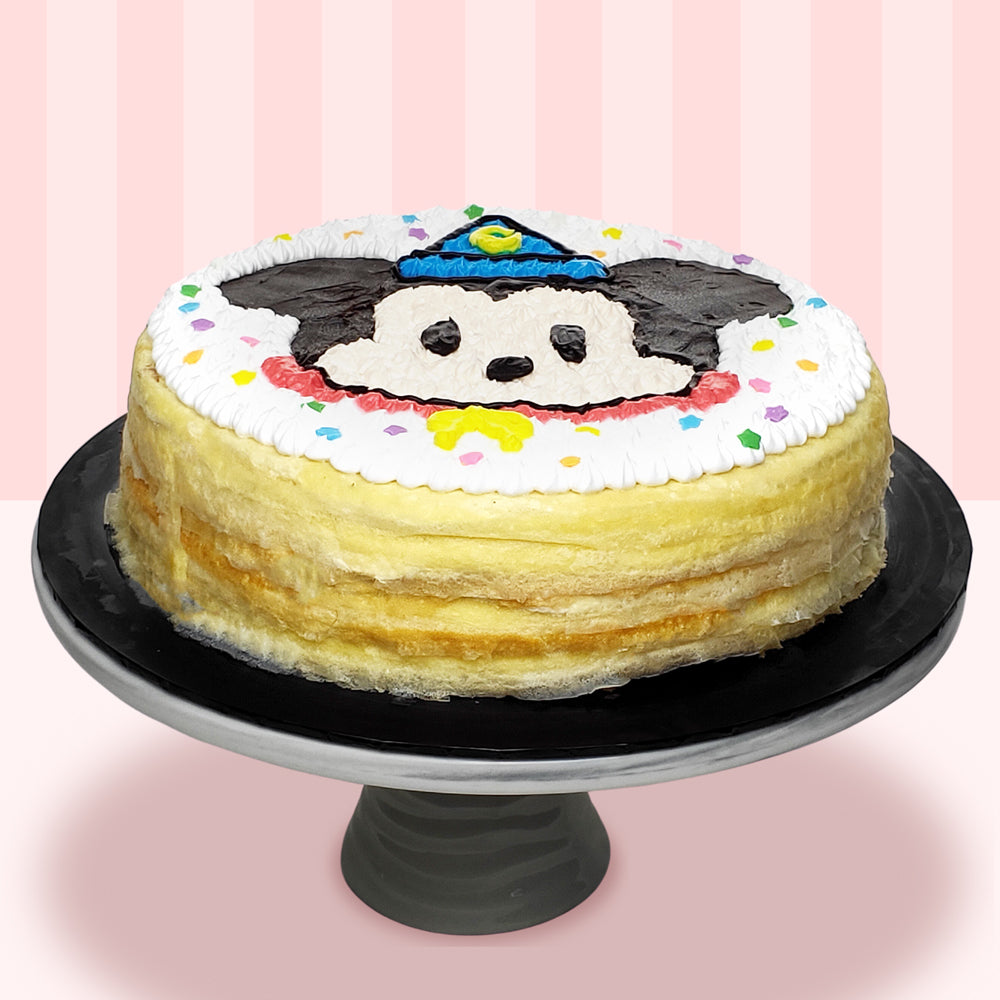 Mickey Mouse Mille Crepe Cake (2D)