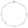 """e""ssentials bracelet stack of 2 - blush set"