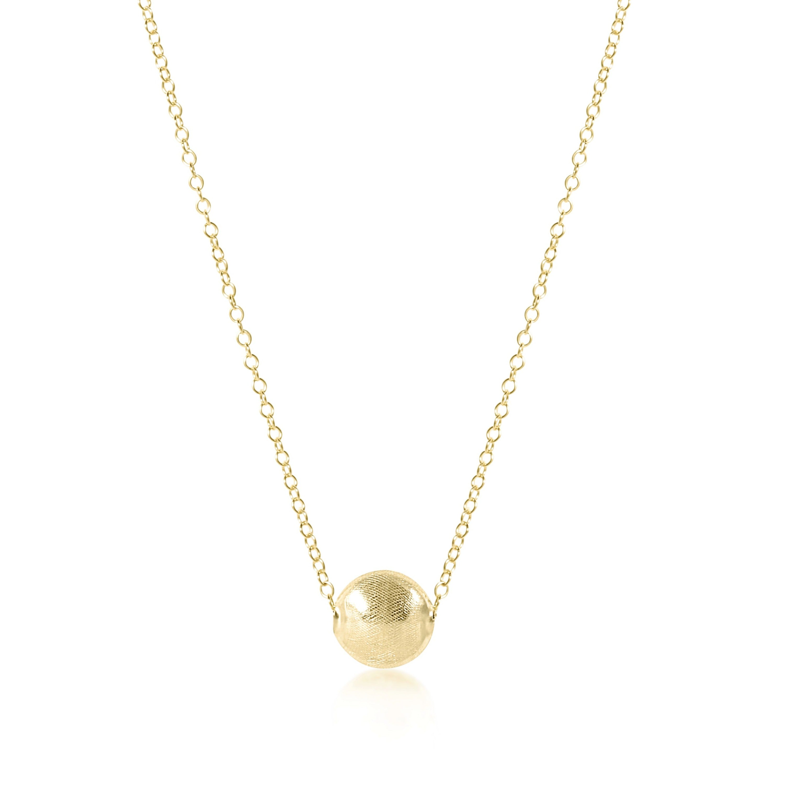 "16"" necklace gold - honesty gold"