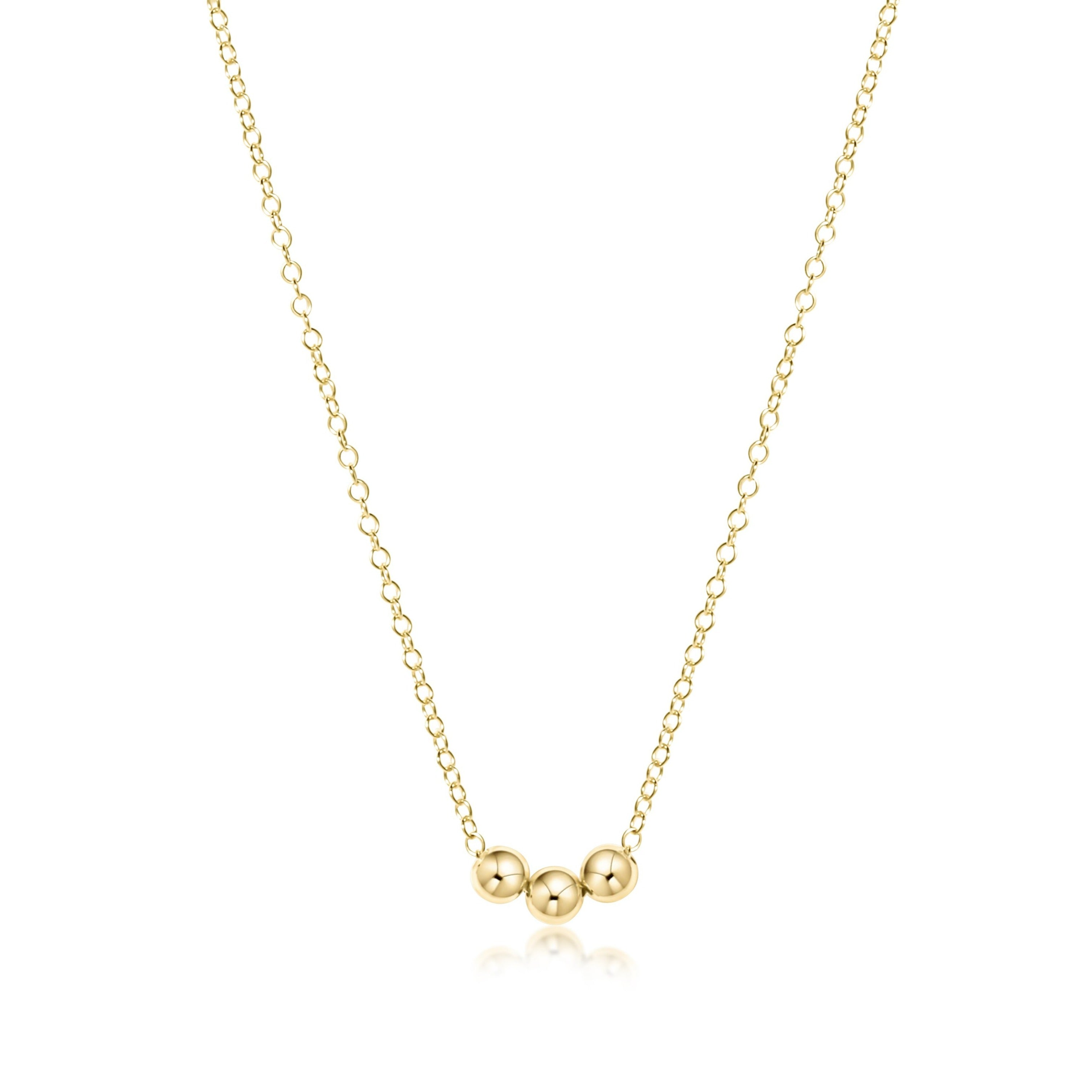 "16"" Necklace Gold - Joy"