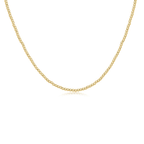 Choker Classic Gold 2mm Bead
