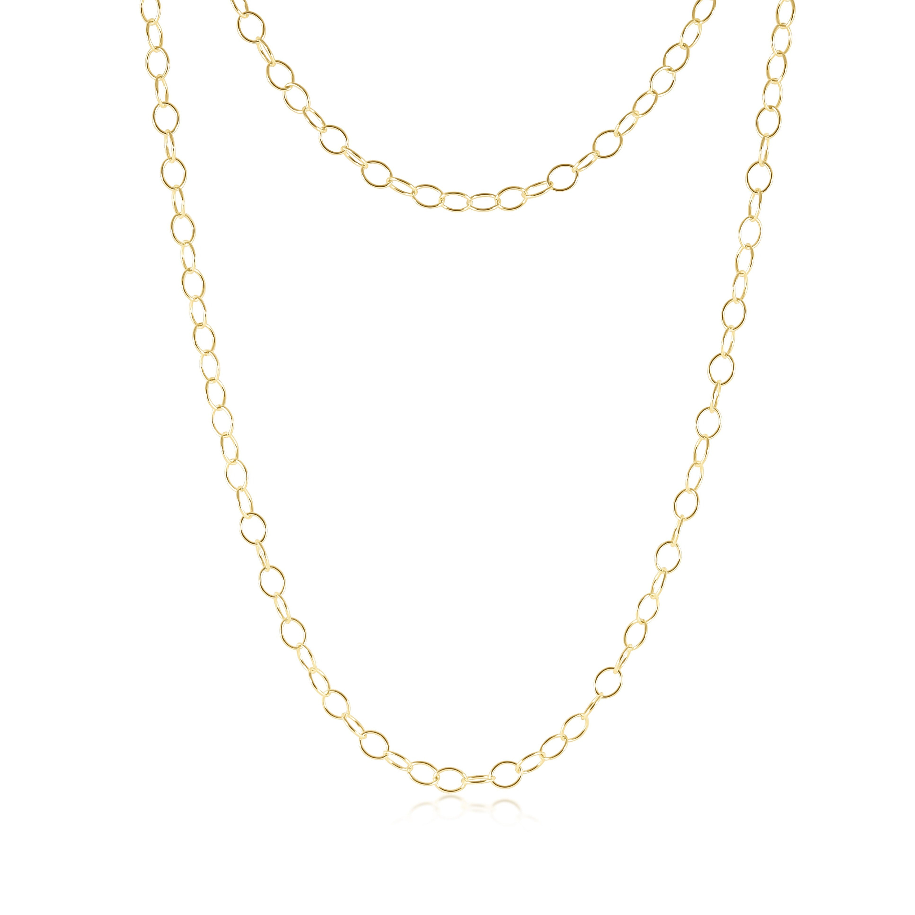 "41"" Necklace Enchant Chain - Gold"