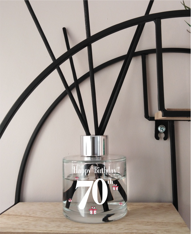 70th Birthday Diffuser - Something Different!