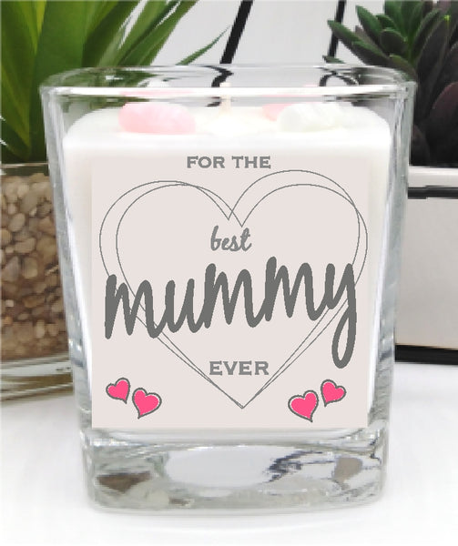 Best Mummy Ever Square Candle